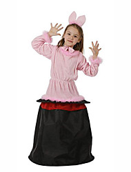 Pink Rabbit Kids Halloween Costume