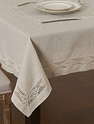 Country Style Linen Table Cloth