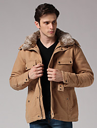 Men's Coats & Jackets , Cotton/Faux Fur/Polyester Cute/Work GOODFUTURE