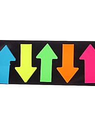 5 Colors Arrows Shaped Self-Stick Note