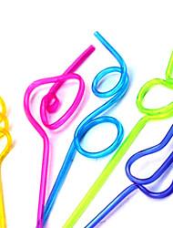 Modellierung Straw (5-teilig) (zufällige Farbe)