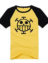 "«Chirurgien de la mort"" Trafalgar Law coeur pirates symbole t-shirt"