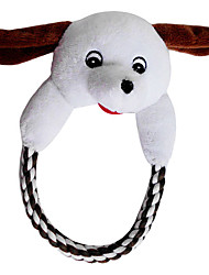 Cute Dog Head Big Hug with Rope for Pets Dogs