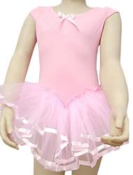 Kids' Dancewear Tutu Ballet Ballroom Cotton With Satin Dance Dress Kids Dance Costumes