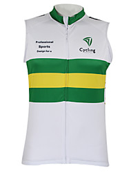 KOOPLUS Unisex / Women's / Men's Cycling Vest / Tops Sleeveless Bike Summer / AutumnBreathable / Quick Dry / Waterproof Zipper / Front