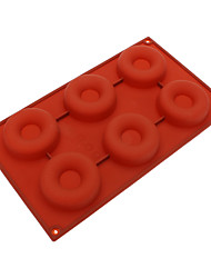 Donut Shaped Silicone Cake Cookie Mould