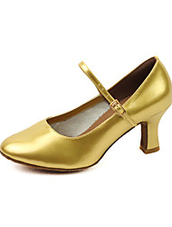 Amazing Women's Leatherette Upper Dance Shoes