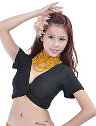 Polystyrene With Beading Belly Dance Necklace For Ladies(More Colors)