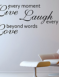 Amour Byond mots Wall Sticker