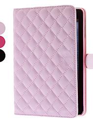 couleur unie grilles sacoche de modèle pour Mini iPad 3, iPad Mini 2, iPad mini (couleurs en option)