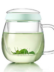 Elegant Glass Kettle With Lid