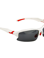 GZ004 Anti-UV Polarized Lense Sports Cycling Glasses Sunglasses(white Frame)