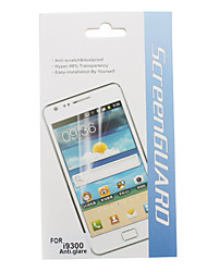 3 in 1 Frosted Screen Protector für Samsung Galaxy S3 I9300