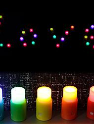 Colorized Candle Shaped DIY Night Light (5 PCS)