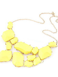 Amazing Alloy With Resin Women's Necklace(More Colors)