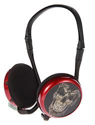 3D-padrão Sports sem fio On-Ear Headphone com FM, slot para cartão TF TX-Q9 (4 padrões)