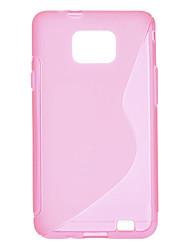 S Linie Muster Hard Case für Samsung Galaxy S2 I9100 (verschiedene Farben)