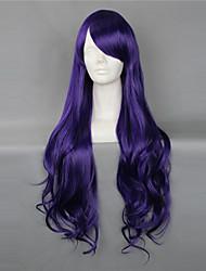 Bluish Violet 80cm Loose Wave Gothic Lolita Wig