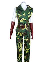 Costume Soldados Sortie verde camuflagem uniformes dos homens do Exército