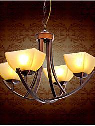 stile europeo dell'annata 4 lampadario luce