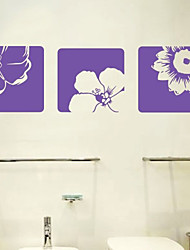 Flower Decorative Wall Sticker(0565-1105092)