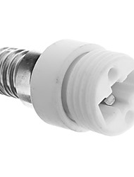 E14 à G9 Ampoules LED Céramique Socket Adapter