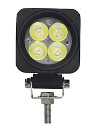 10W 4 LEDs Praça Trabalho Light