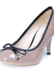 Damenschuhe - High Heels - Kleid / Büro - Kunstleder - Stöckelabsatz - Absätze - Schwarz
