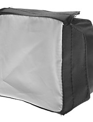 newyi sb1010 Universelles Klappblitzgerät 430EX 320EX SB800 SB600 Softbox - schwarz + weiß (10 x 10cm)