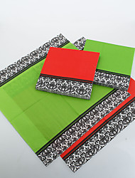 Solid Color Napkins With Laciness(More Colors)