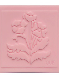 Silicone Embossing Plant Pattern Mold Lace