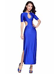Lindo dancewear spandex vestidos de dança do ventre para senhoras (mais cores)