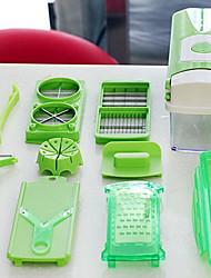 Fruit&Vegetable Nicer Slicer Plus Slicer Cutter Chopper Chop Potato Peelers Kitchen Tool