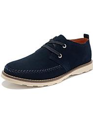 NPN Англии стиль Мода Корова кожа Низкий обувь темно-синий