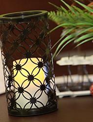 Lanterne solaire à LED Craft fer avec le Parti poignée de mariage Lampe Garden Light