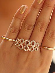 Women's 8-Shaped Alloy Ring