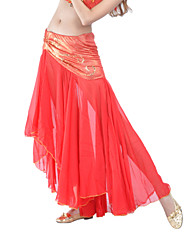 Dancewear Polyester With Sequins Belly Dance Bottom for Ladies(More Colors)
