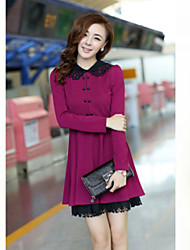 JANE FANS Elegant 1/2 Sleeve Slim Dress