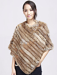 Elegant Rabbit Fur Evening/Wedding Poncho (More Colors)