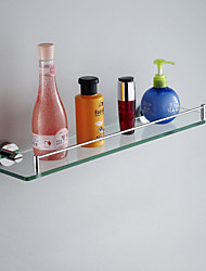 Bathroom Shelf , Contemporary Chrome Wall Mounted