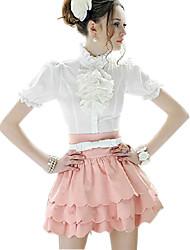 L'arrivée de nouveaux Pétale Layered jupe taille haute rose de femmes du fleuve