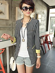 CHAOLIU Women Slim Stripes Blazer
