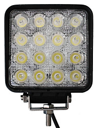 48W 16 LED Light Square de travail