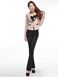 Women's Work Pants , Cotton/Spandex Inelastic