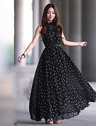 Women's Dresses , Chiffon Casual Long Sleeve CHAO LIU