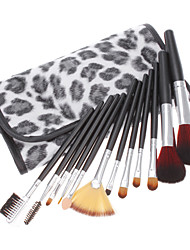 12 Makeup Brushes Set Others / Synthetic Hair Face / Lip / Eye