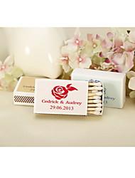 Картон Свадебные украшения-12piece / Установить Персонализированный Спички в комплект не входят.