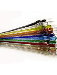 élégante pension cristal de plongeon de verre (plusieurs couleurs) signe dans le livre