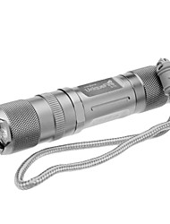 Lanternas LED / Lanternas de Mão LED 6 Modo 350 Lumens Recarregável / Tático / autodefesa Cree XP-G R5 14500 / AACampismo / Escursão /