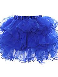 Georgette Facile Matching Tutu bleu de Luckyone femmes